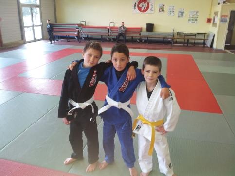 les 3 petits cochons : Dimitri, Alexis et Evan participent eux-aussi à l'Open de Nantes