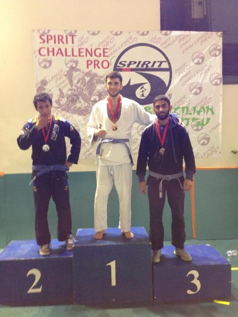 Akhmed Abdoulaev champion du Spirit en  ceinture bleue - 70 kilos